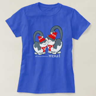All I want for Christmas is You. Christmas T-Shirt