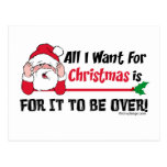 All I want for Christmas Post Cards