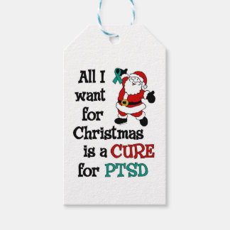All I Want For Christmas...PTSD Pack Of Gift Tags