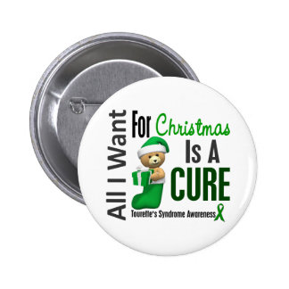 All I Want For Christmas Tourette s Syndrome Buttons