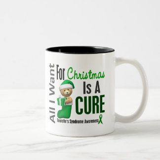 All I Want For Christmas Tourette's Syndrome Coffee Mugs