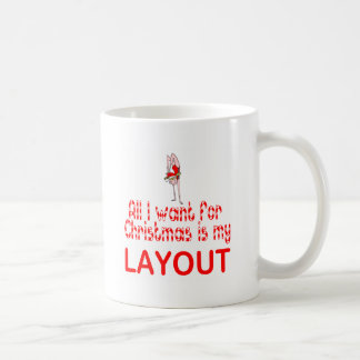 All I want Layout Classic White Coffee Mug