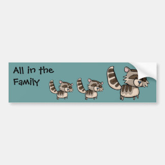 All in the Family, Racoon Bumper Sticker