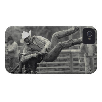 All Indian Rodeo in Tygh Valley, Oregon. Clint iPhone 4 Case-Mate Cases
