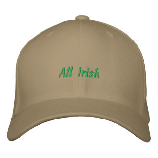 All Irish Ball Cap Embroidered Baseball Caps