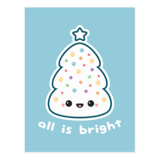 All is Bright Postcard
