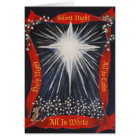 All is White Cotton Field Christmas Card