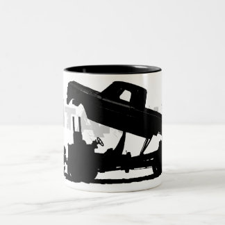 All jacked up Two-Tone coffee mug
