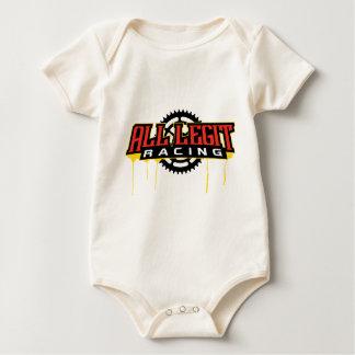 All Legit Plates Logo Baby Bodysuit