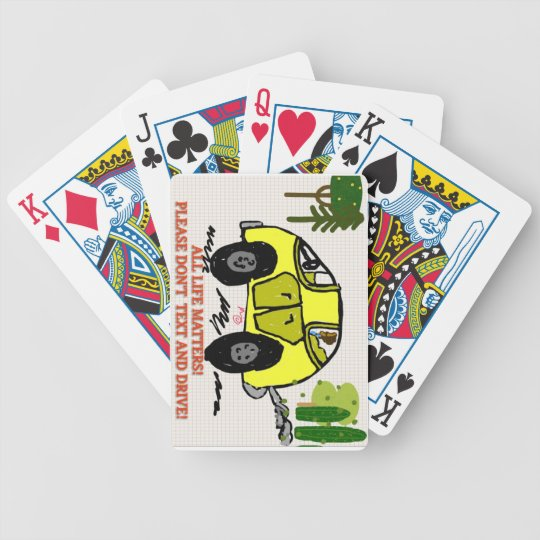 ALL LIFE MATTERS! - Playing Card