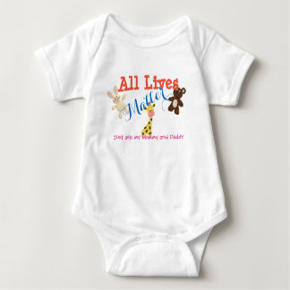 All Lives Matter Baby Bodysuit