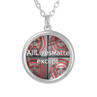 All Lives Matter Silver Plated Necklace