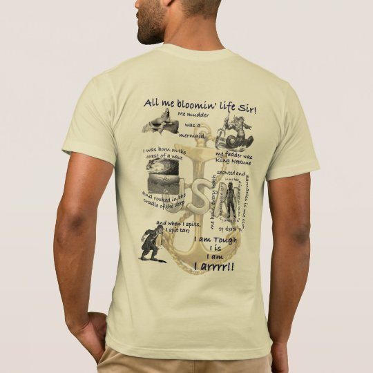 All Me Bloomin Life Sir T-Shirt