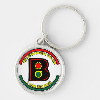 ALL MEN ARE BUTS KEYCHAIN