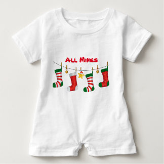 All Mines Baby Romper