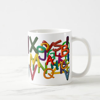 All mixed up Alphabets Coffee Mug