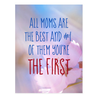 All Moms Are The Best Postcard