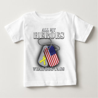 All My Heroes Wear Dog Tags Tshirts