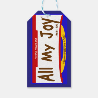 All My Joy Lord Gift Tag/Mini-Card Gift Tags