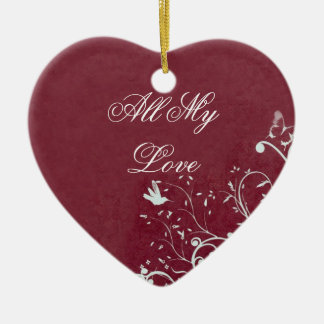All My Love Ornament
