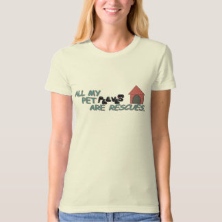 All My Pet Peeves Are Rescues T-Shirt
