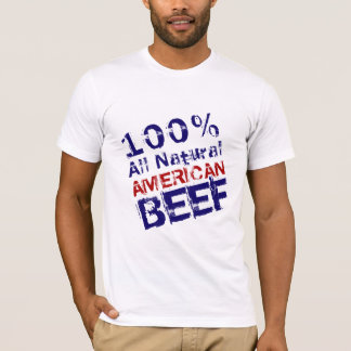 All Natural American Beef T-Shirt