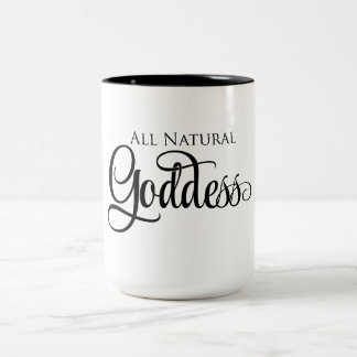All Natural Goddess Two-Tone Coffee Mug