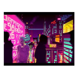 All Neon Like Postcard