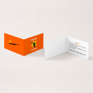 All not thawed out of limps Humour Quebec Business Card