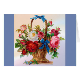 All Occasion Flower Basket Card