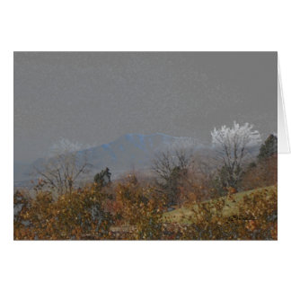 All Occasion Greeting Card-Mountains in Autumn Card