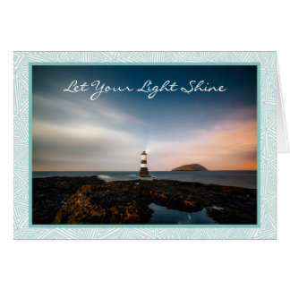 All Occasion Lighthouse Greeting Card