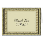 All Occasion Paisley Personalized Thank You Card