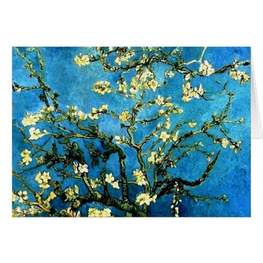 All Occasion Van Vogh Almond Blossoms Card