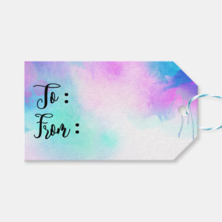 all occasion watercolor by ozias pack of gift tags