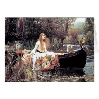 All Occasion Waterhouse The Lady of Shallot Card