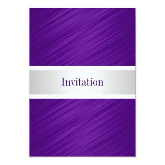All Occasions Elegant Purple Stripes Card