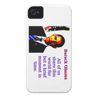 All Of Us Share This World - Barack Obama Case-Mate iPhone 4 Case