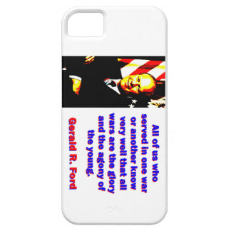 All Of Us Who Served - Gerald Ford iPhone 5 Cases