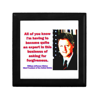All Of You Know - Bill Clinton Gift Box