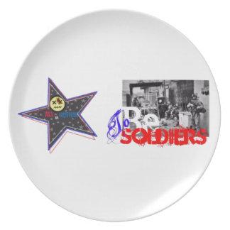 "All... or Nothing! Patriotic ""Dark Star"" edition Dinner Plate"