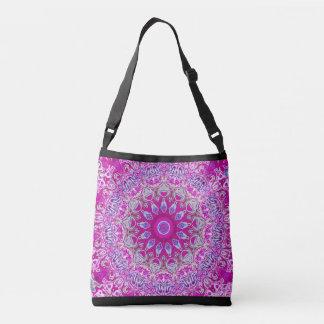 All-Over Cross Body Purple Print bag