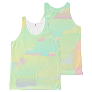 All Over Design Abstract Art Sky Unisex Tank Top