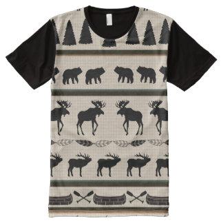 All-Over Elk Shirt