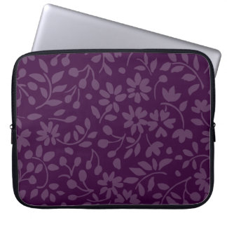 All Over Floral Any Color Laptop Sleeve