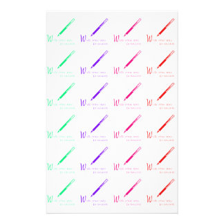 ALL OVER PEN PEN PRINT STATIONERY PAPER