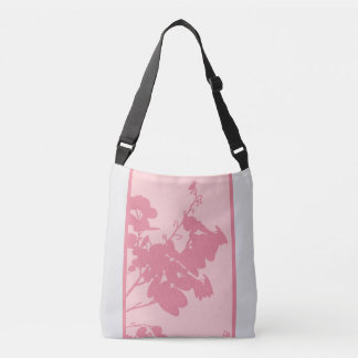 All-Over-Print Cross Body Bag, Medium PINK HUMMING Crossbody Bag