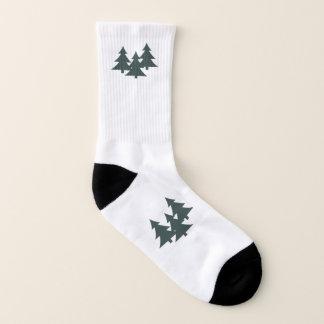 All-Over-Print Socks, Small (US Men 5-7 / US Women 1