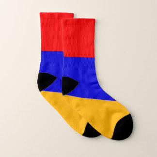 All Over Print Socks with Flag of Armenia 1