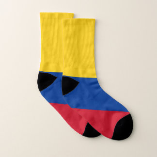All Over Print Socks with Flag of Colombia